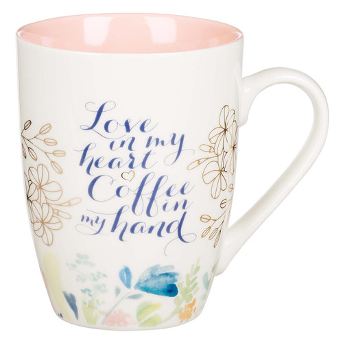 Love in My Heart Ceramic Coffee Mug