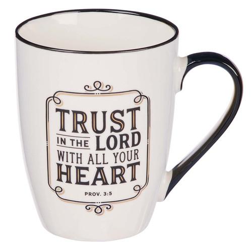 Trust in the LORD Ceramic Mug – Proverbs 3:5