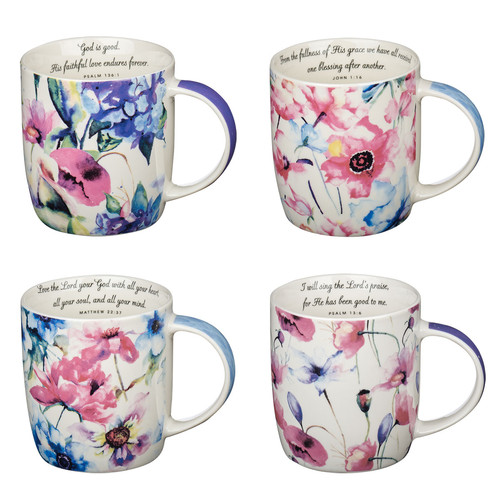 Seeds of Love set of four Coffee Mug