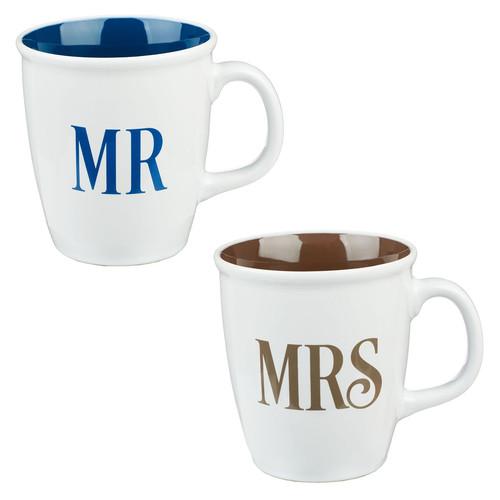 Mr and Mrs Collection Coffee Mug Set