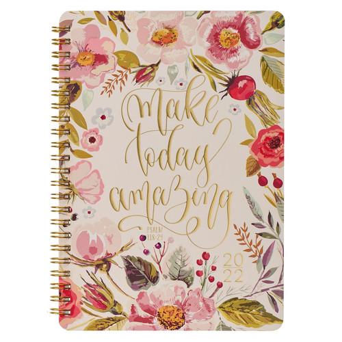 2022 Make Today Amazing Wirebound Daily Planner