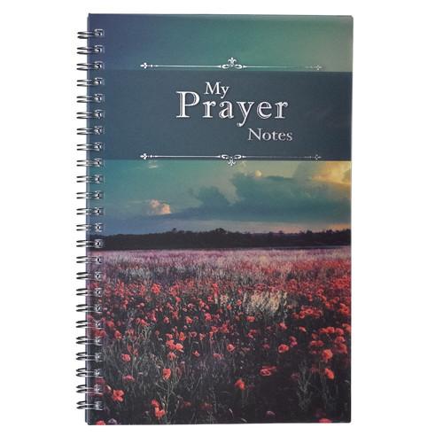 My Prayer Notes Wirebound Notebook