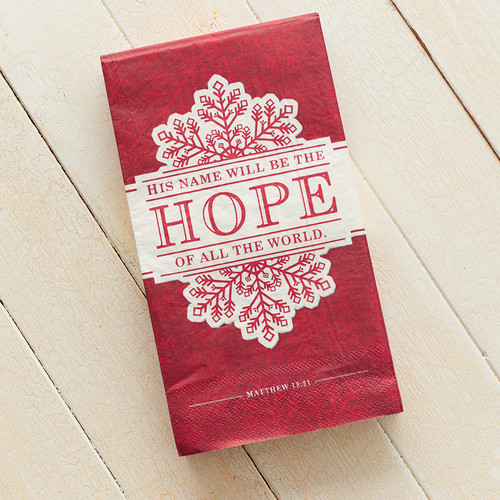 Christmas Napkins: Hope Pack of 20