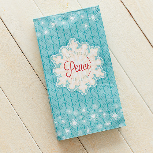 Christmas Napkins: Let There Be Peace on Earth Pack of 20