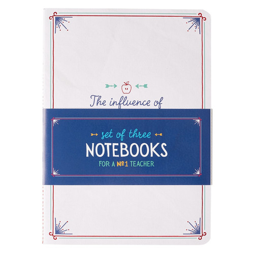 A Great Teacher, Set of 3 Notebook Set