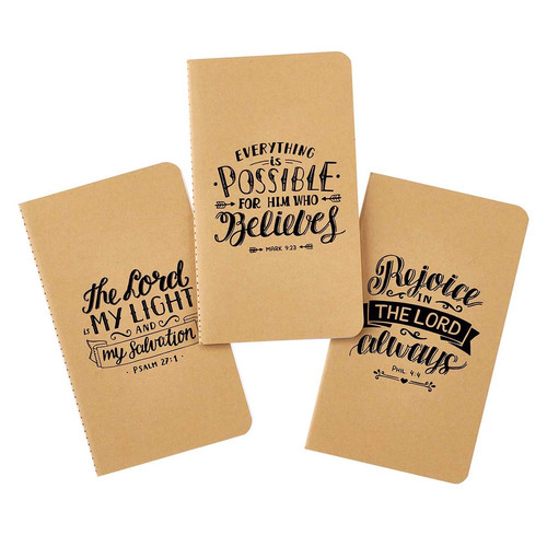 Rejoice Small Notebook Set - Philippians 4:4