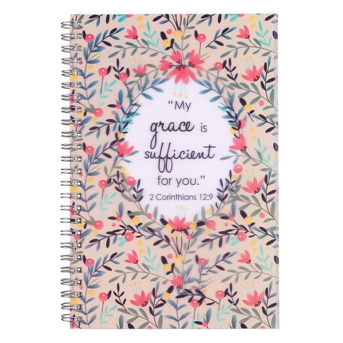 My Grace Wirebound Notebook - 2 Cor 12:9