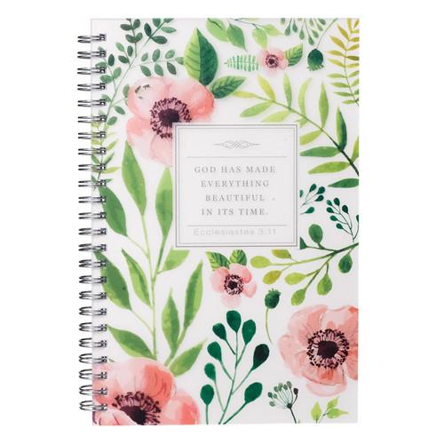 Everything Beautiful - Ecclesiastes 3:11 Wirebound Notebook