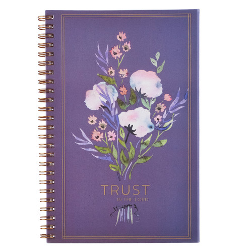 Trust in the Lord Wirebound Notebook - Proverbs 3:5