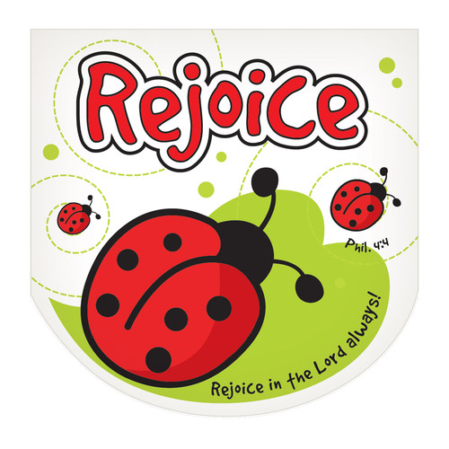 LaeDee Bugg: Rejoice Mini Notepad