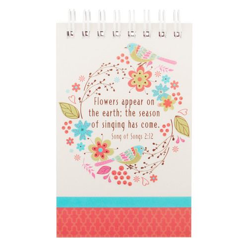 Birth of Spring Notepad - Song of Solomon 2:12