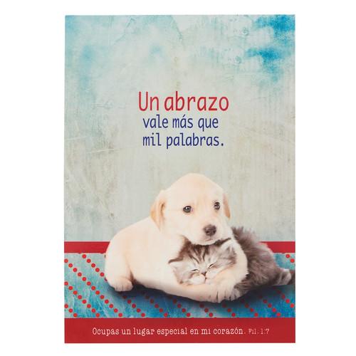 Libreta mascotas Abrazo Fil 1:7