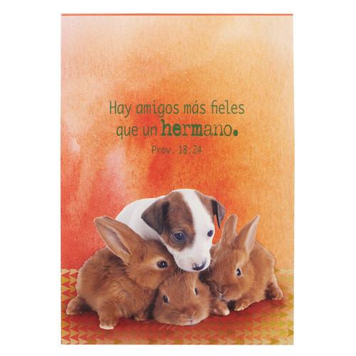 Libreta mascotas Amigos Prov 18:24