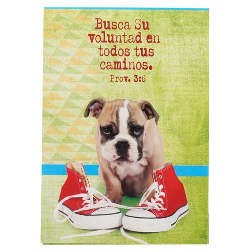 Libreta mascotas Voluntad Prov 3:6