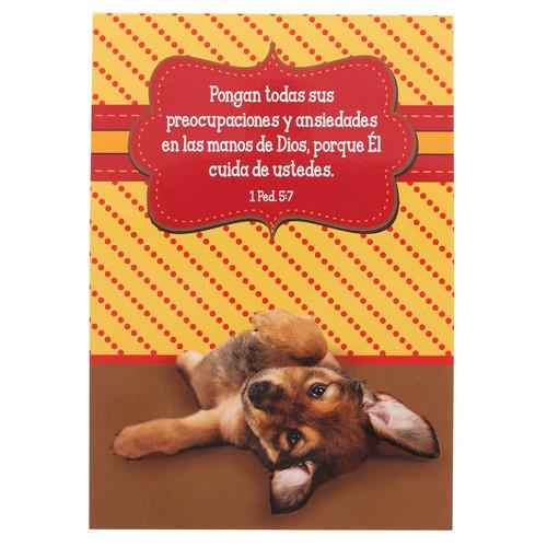 Libreta mascotas Preocupaciones 1 Ped 5:7