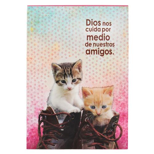 Libreta mascotas Dios nos cuida