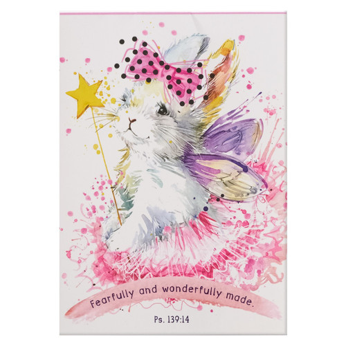 Fearfully and Wonderfully Made Illustrated Pet Notepad - Psalm 139:14
