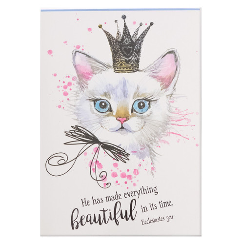He Has Made Everything Beautiful in its Time - Ecclesiastes 3:11 Pet Notepad