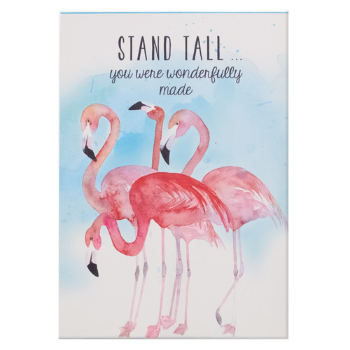 Stand Tall... You Are Wonderfully Made Illustrated Pet Notepad