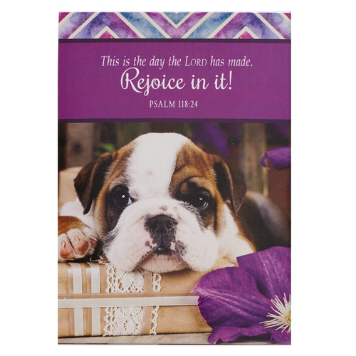Rejoice In It! - Psalm 118:24 Pet Notepad