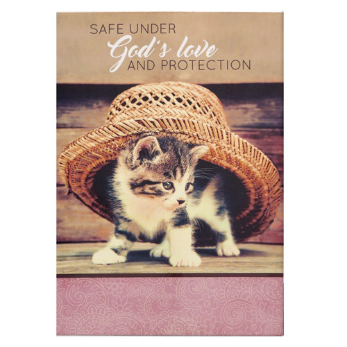 Safe Under God's Love And Protection Pet Notepad