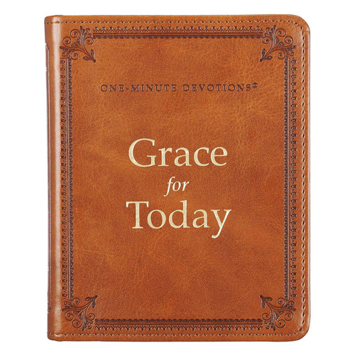 Grace for Today - LuxLeather One Minute Devotions