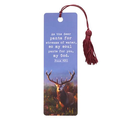 As the Deer Ps 42:1 PVC Bookmark