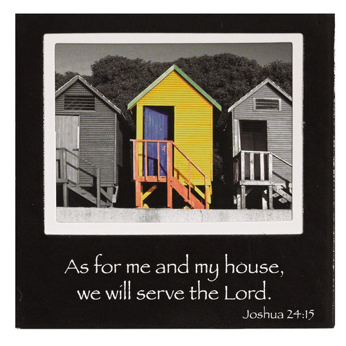 quot as for me and my house quot wall plaque