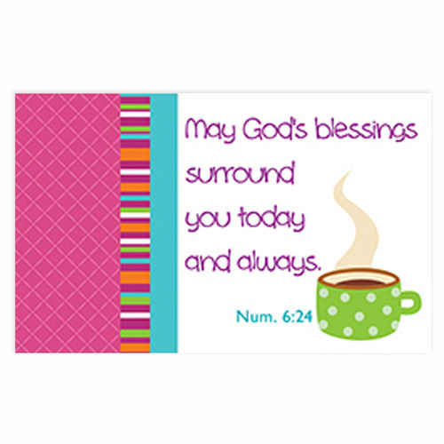 God's blessings Pass-Around Cards