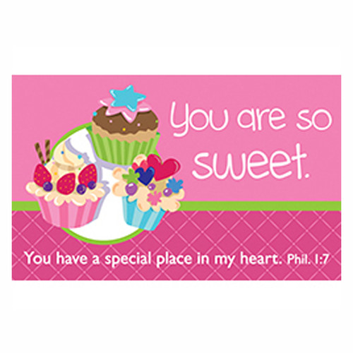 You are so sweet (Pink) Pass-Around Cards