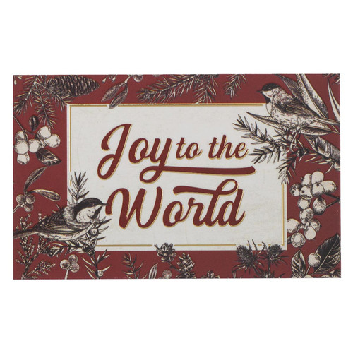 Joy to the World Pass Around Cards
