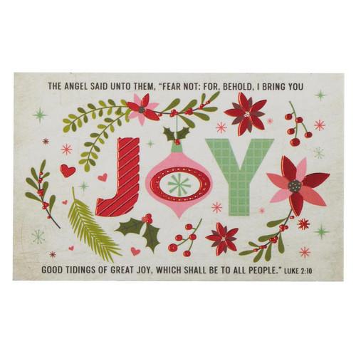 Joy, Good Tidings Pass Around Cards
