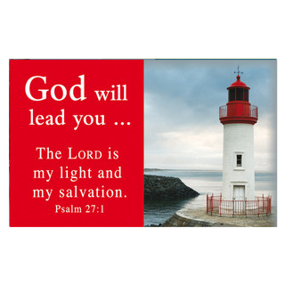 Psalm 27:1 Pass-Around Cards