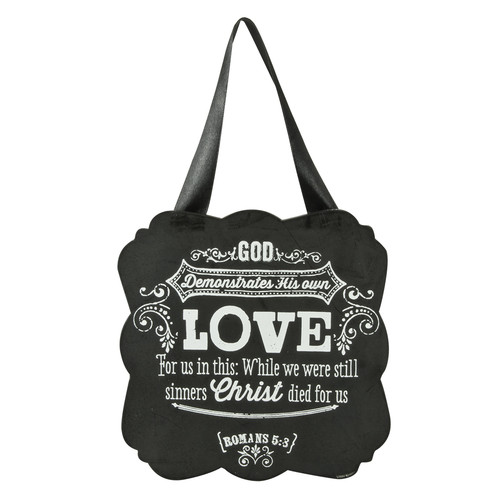 Chalkboard Collection:Love Wooden Hanging Plaque