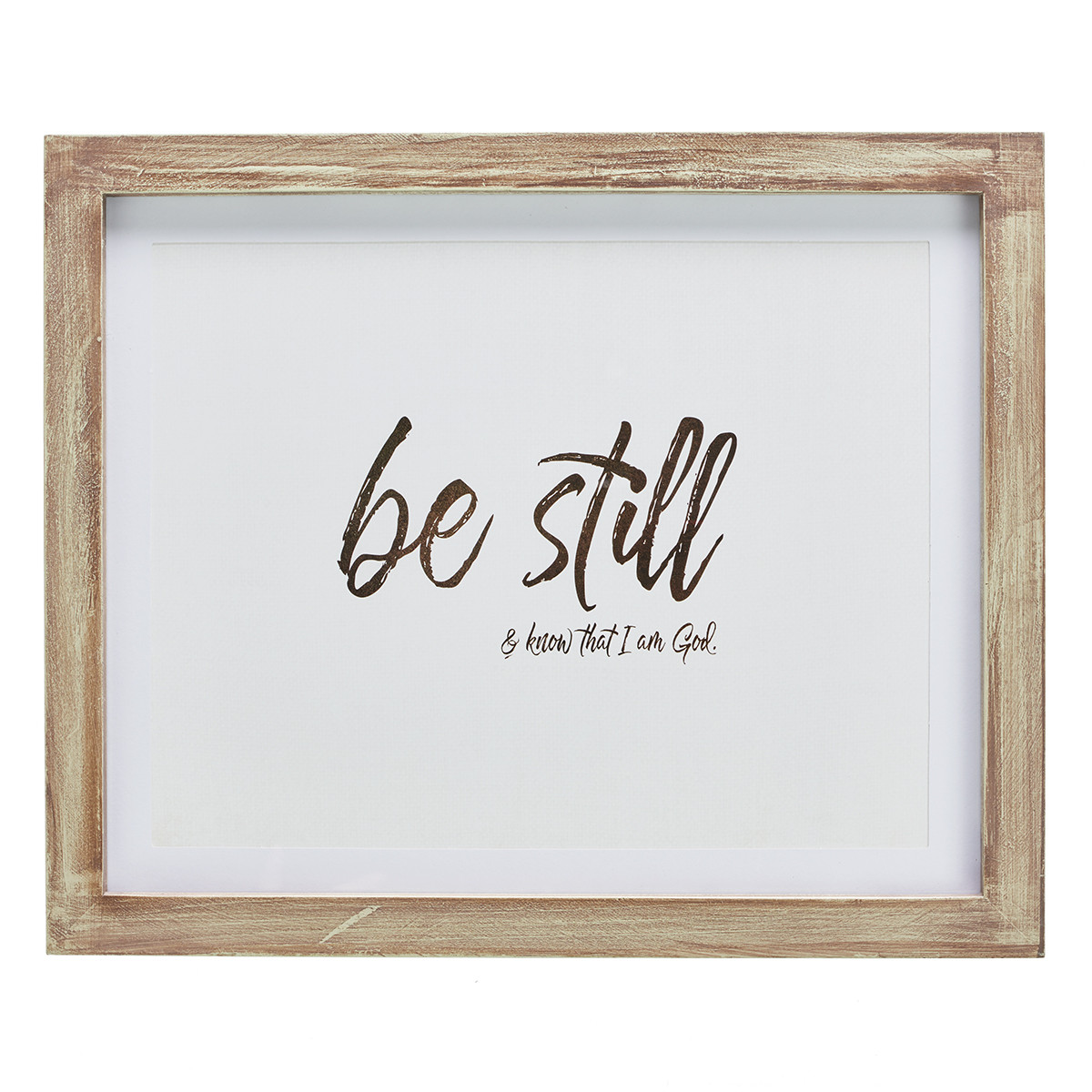 Be Still And Know That I Am God Psalm 4610 Wall Plaque
