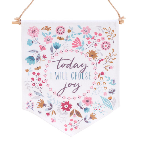 Choose Joy Wall Canvas Art
