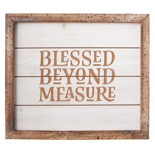 Blessed Beyond Measure Wall Art