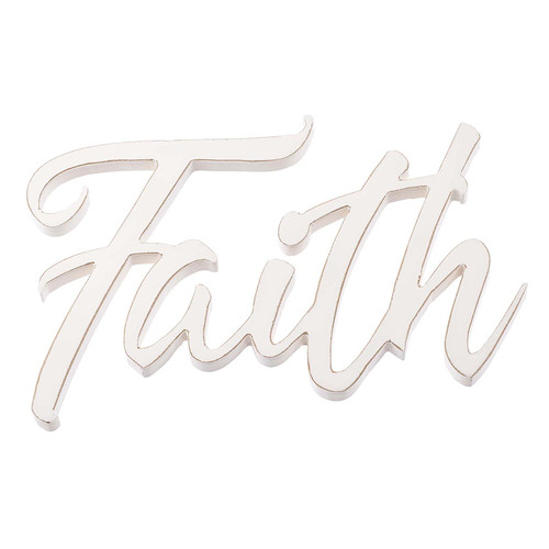 Faith - Laser Cutout Wall Art