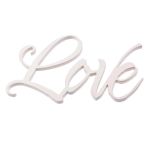 Love - Laser Cutout Wall Art