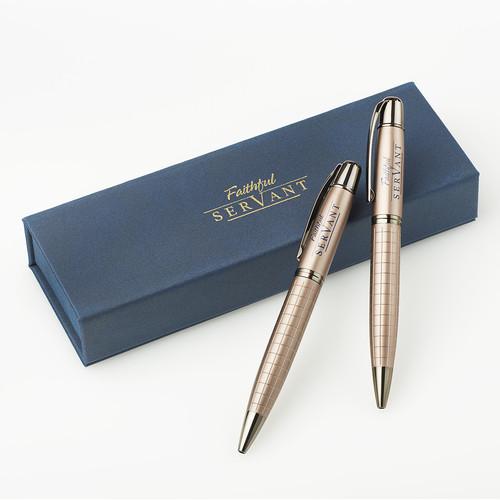 Faithful Servant Pen & Pencil Set
