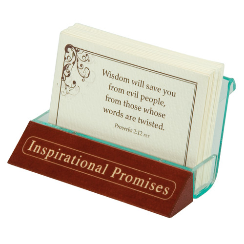 Promise Card Holders - Inspirational Promises