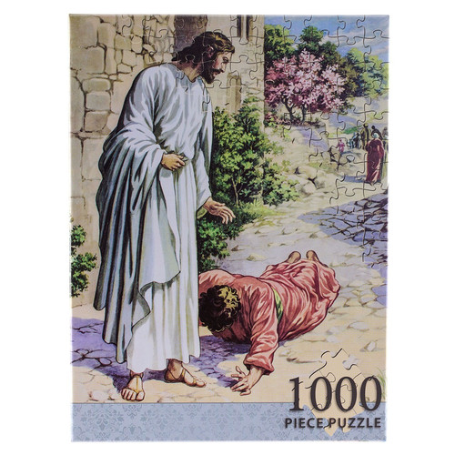 Jesus, Friend of Sinners 1000-piece Jigsaw Puzzle