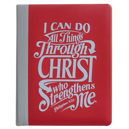 Philippians 4:13 Soft Vinyl Photo / Card Wallet