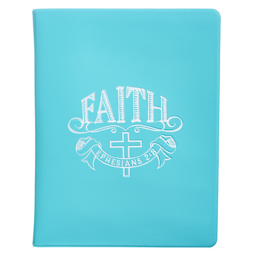 Faith Soft Vinyl Photo / Card Wallet