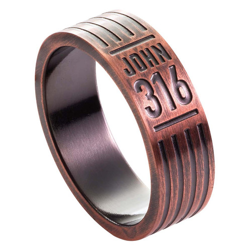 John 3:16 Men's Ring