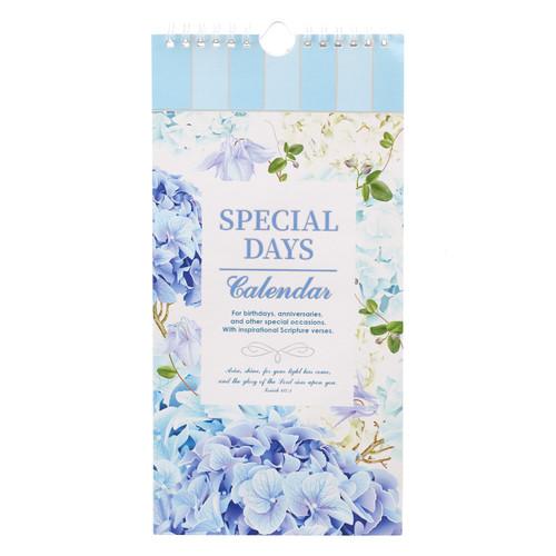 Hydrangea Special Days Calendar - Isaiah 60:1