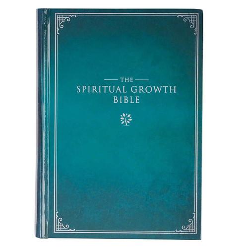 Teal Hardcover Spiritual Growth Bible