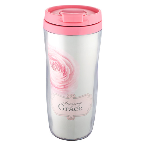 Amazing Grace Polymer Travel Mug