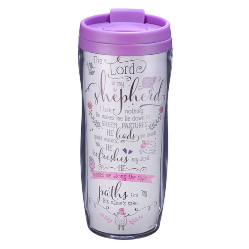 Travel Mug Polymer Psalm 23