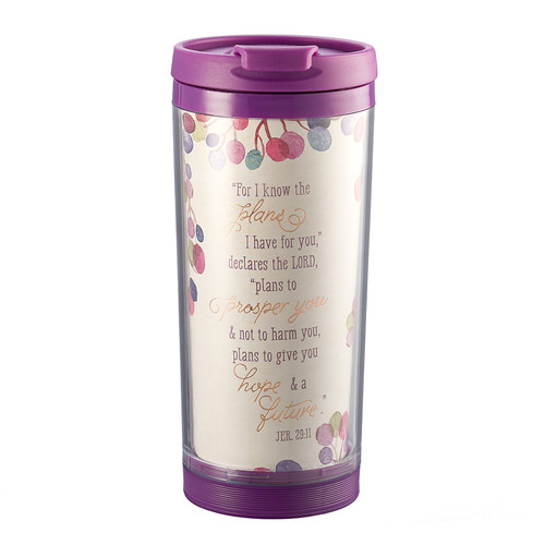 Travel Mug Polymer I Know the Plans